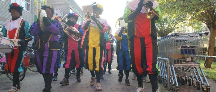 intocht Sinterklaas Zwolle Zuid 2017
